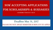 UWI Scholarships Final Announcement