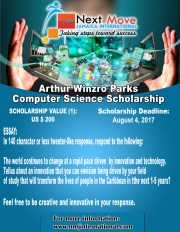 Arthur Winzro Parks Computer Science Scholarship