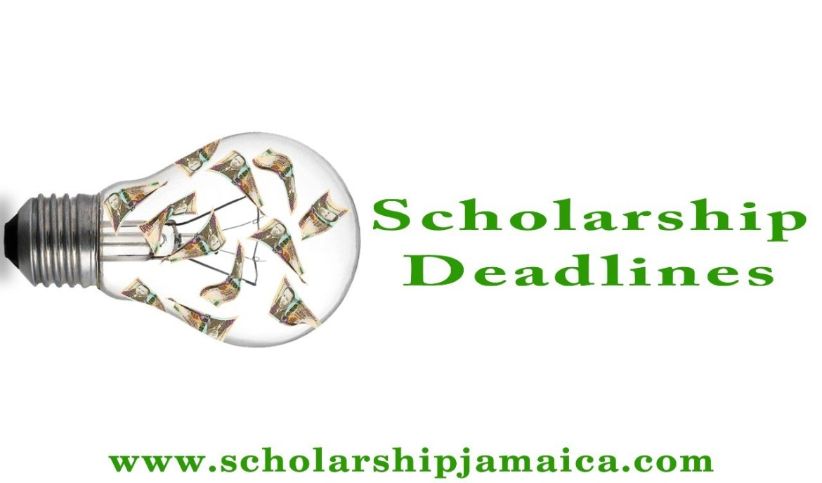 Scholarship Application Deadlines