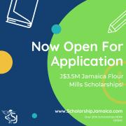 J$3.5M Jamaica Flour Mills Scholarship (JFM) Programme for Tertiary Students