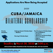 Cuba Jamaica Bilateral Medical Scholarships