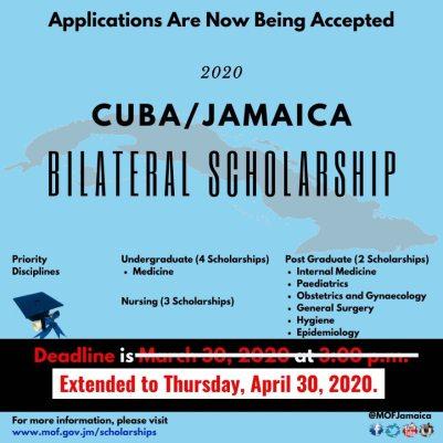 Cuba Jamaica Medical Scholarship