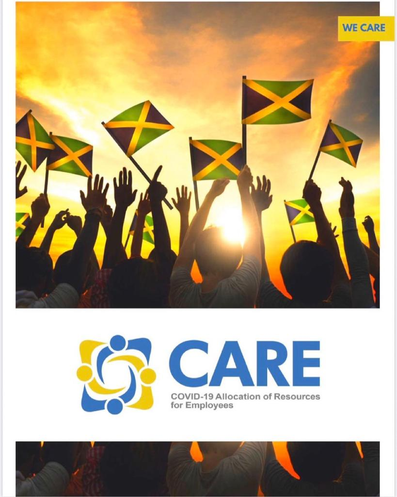 All is set for applications to open on Thursday, April 9, 2020 for Jamaicans to access relief COVID-19 assistance as part of the Government's COVID-19 economic stimulus package (CARE). The COVID-19 Assistance initiative is being led under the $10 billion Covid Allocation of Resources for Employees (CARE) Programme. Applications will be submitted online and persons needing assistance may call the helpline 888-4WE-CARE (888-493-2273).