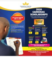 The 2020 Carreras Scholarships Programme is Accepting Applications