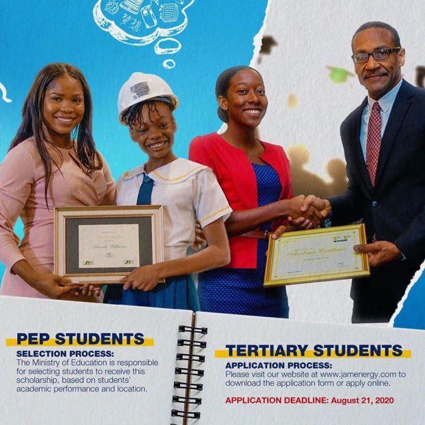 JEP Scholarship, Jamaica energy partners