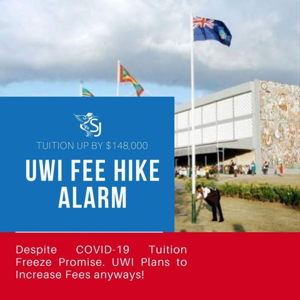 Students at UWI, Mona, are livid at the $128K increase in tuition this academic year despite a pledge that fees would be frozen amid the COVID-19