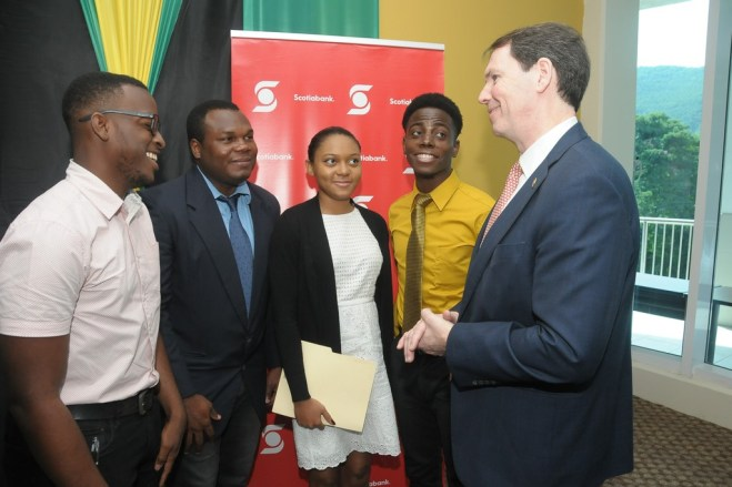 Scotiabank has committed to funding 15 new scholarships for students at UWI as part of the renewal of its sponsorship of the UWI Toronto Gala Scholarship.