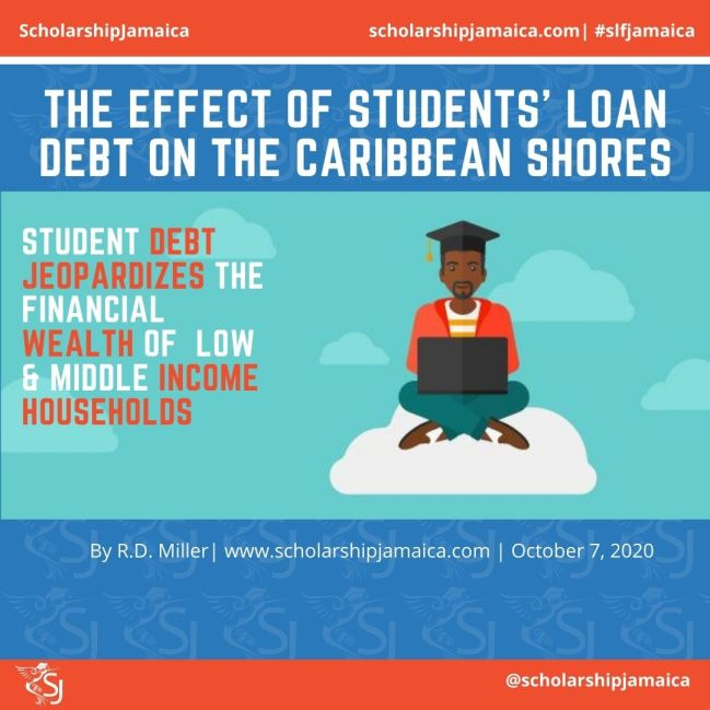 The effect of students' loan debt on the Caribbean shores