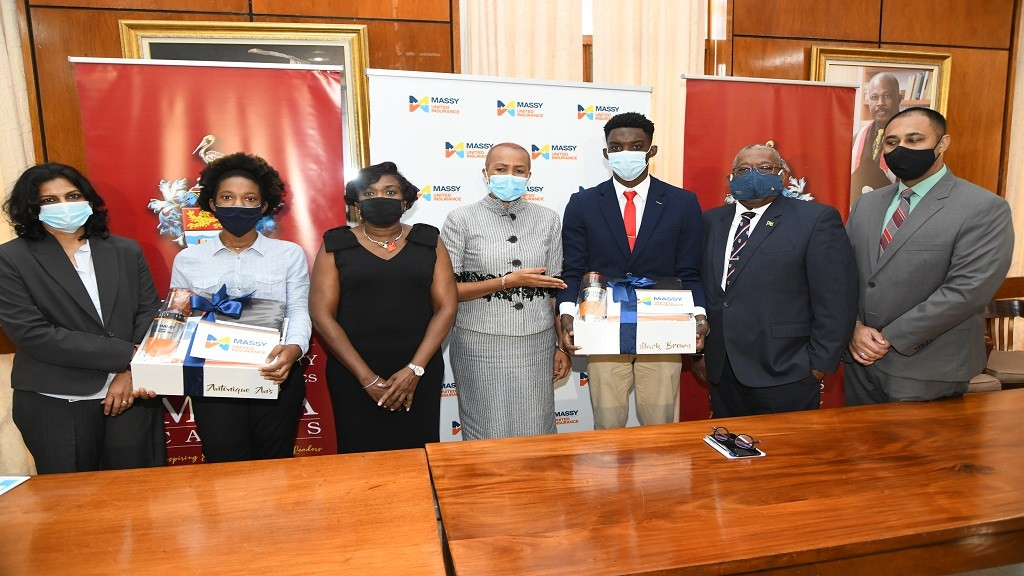 Massy United Insurance Limited selected 2 students to receive full scholarships for studies in Actuarial Science in Science & Technology at the UWI