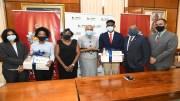 UWI Mona students benefit from Massy United Insurance Scholarships