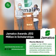 Jamalco Awards over J$12 Million in Scholarships to 200 Students in Central Jamaica