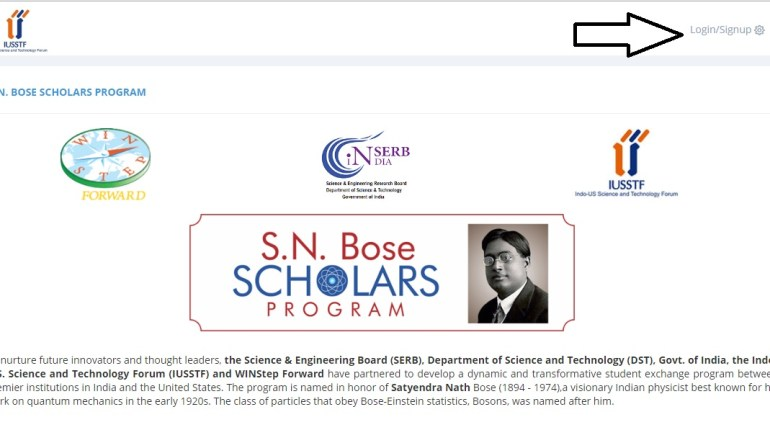 S.N. Bose Scholars Program plans for nurturing future innovators and thought evoking leaders, Department of Science and Technology (DST), the Science & Engineering Board (SERB), Govt. of India, and WINStep Forward have forged a partnership to develop a dynamic and productive student exchange program between renowned institutions in India and the United States of America