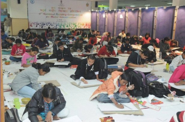 8th Painting Competition on Water Conservation 2017