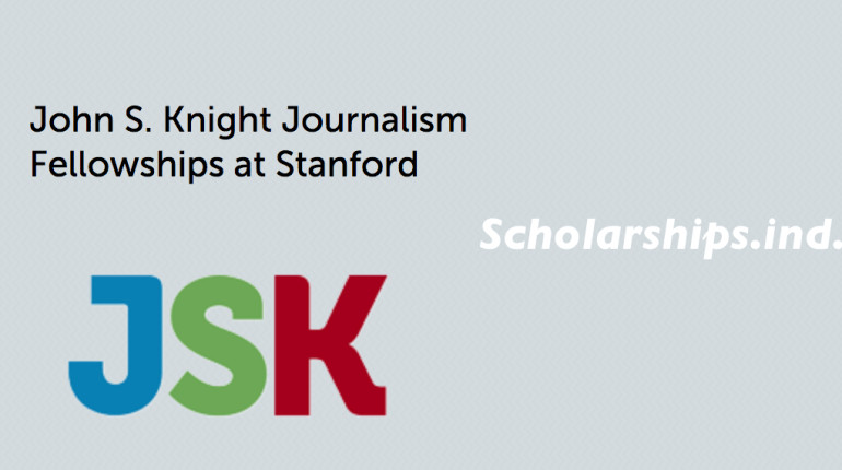 JSK Fellowship 2018 for Journalism