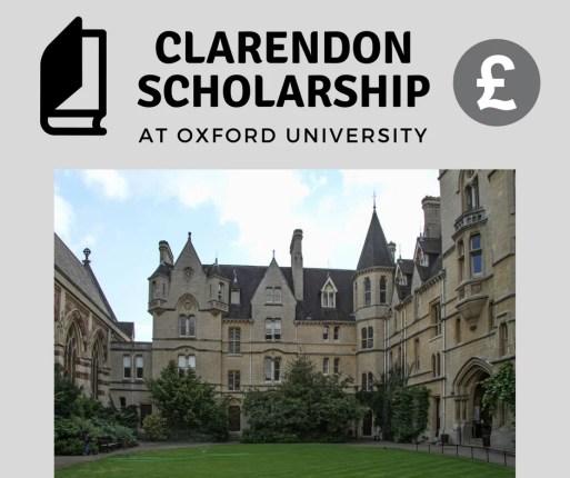 Clarendon Scholarship at Oxford University