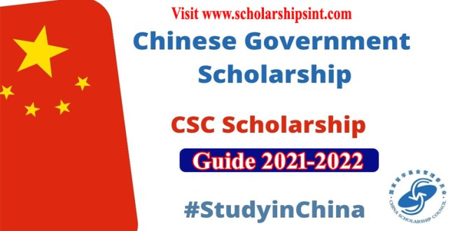CSC Scholarship Application Guide