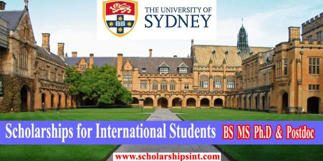 Sydney-University-Scholarship 2021