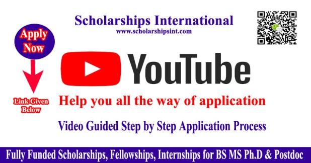 Youtube Scholarshipsint.com