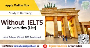 Study in Germany Without ILETS Universities