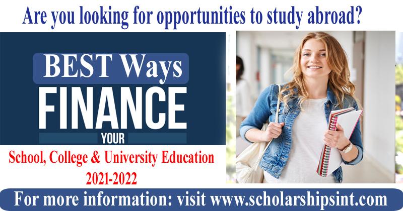 Best ways to finance your studies