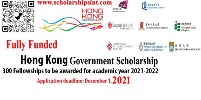hong kong fellowships 2021-2022