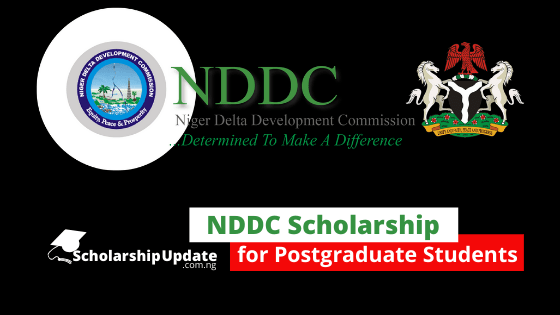 nddc scholarship for postgraduate students