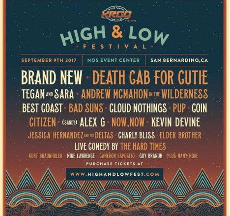 High & Low Festival Announces Comedy Lineup Curated by The Hard Times