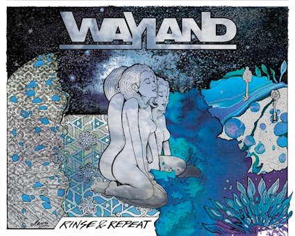 """""""Rinse & Repeat"""" by Wayland, liking this new wave of classic rock feels!"""