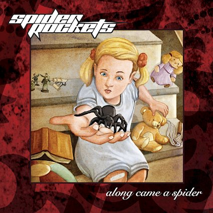 """""""Along Came A Spider"""" by Spider Rockets, headbanger's parking lot!"""