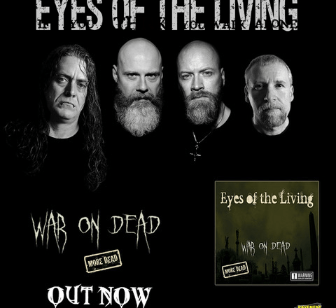 """Tim Swisher of EYES OF THE LIVING Converses with Madness To Creation on Wacken USA, """"War On Dead"""", and """"Infected"""""""