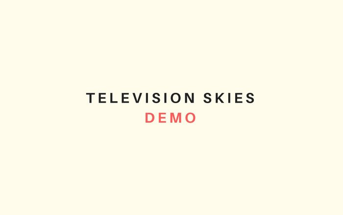 """(EP Review) """"Demo"""" by TELEVISION SKIES"""