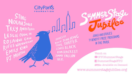 """City Parks Foundation """"Summerstage Jubilee"""" Streaming On Demand for a Limited Time"""