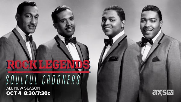 """AXS TV Continues Its """"Rock Legends on Sunday, October 4th with """"Soulful Crooners"""""""