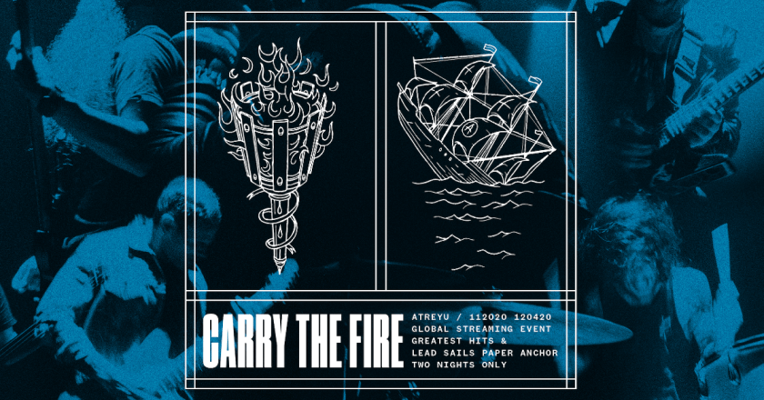 """(Livestream Review):  """"Carry The Fire Part 2:  Lead Sails + Paper Anchor"""" by ATREYU"""