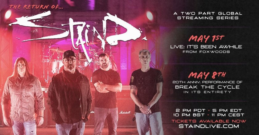 Madness To Creation Podcast Ep. 37:  Minutes of Creative Madness Review: THE RETURN OF STAIND