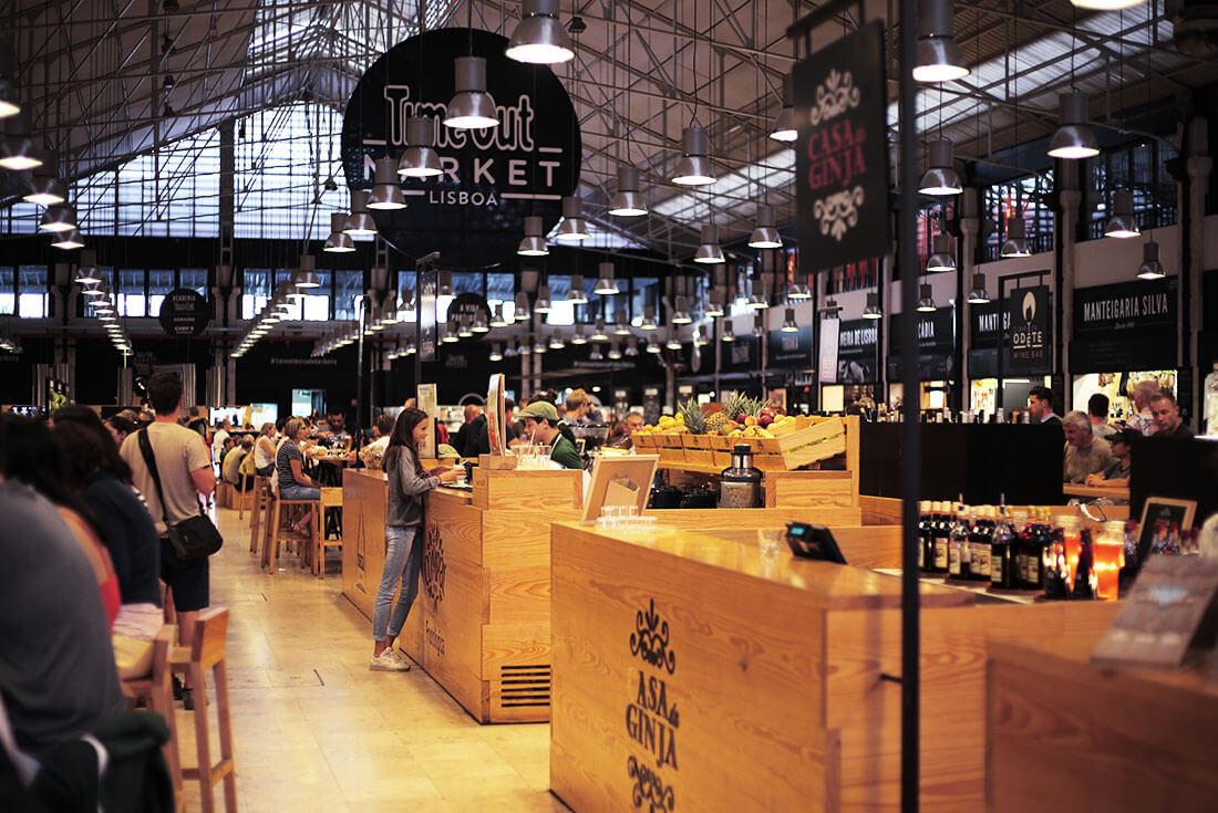 Time Out market in Lissabon - schonhalbelf Reisetipps / Reisebericht
