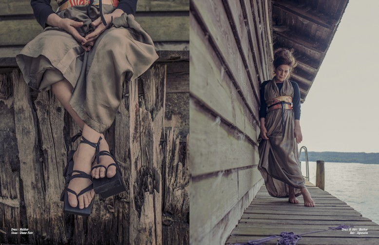 Dress / Haltbar  Shoes / Dieter Fehr Opposite Dress & shirt / Haltbar Belt / Japanalia