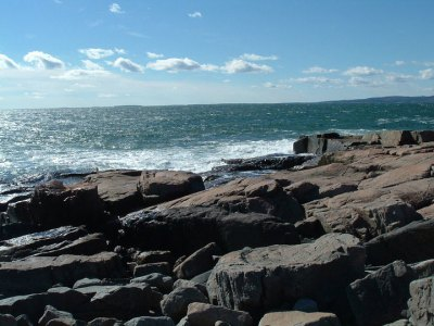 Schoodic Point along the Schoodic Byway