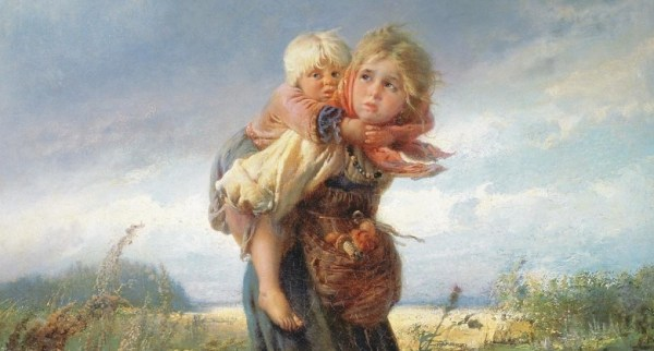 Сочинение по картине маковского дети, бегущие от грозы 3 ...