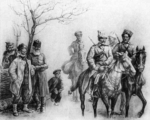 Гражданская война в романе тихий дон шолохова (изображение ...