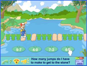 The Crocodiles maths and logic game