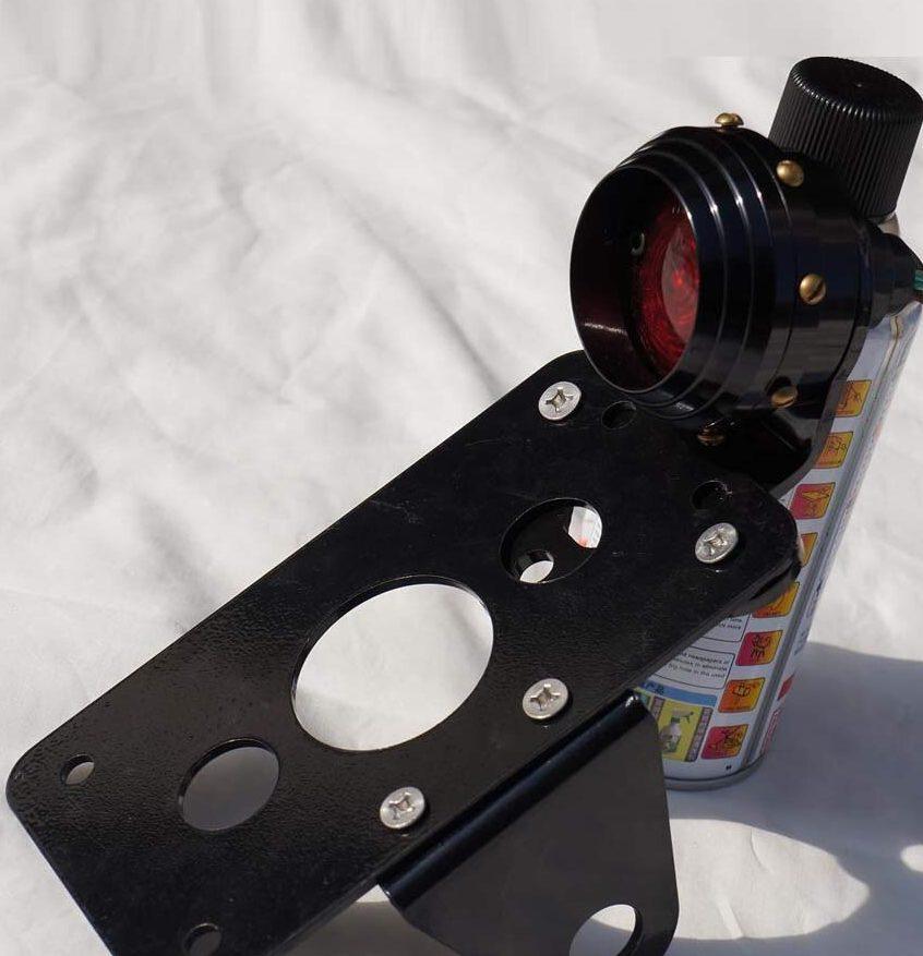 plaque latérale pour Harley Davison avec feu stop intégré