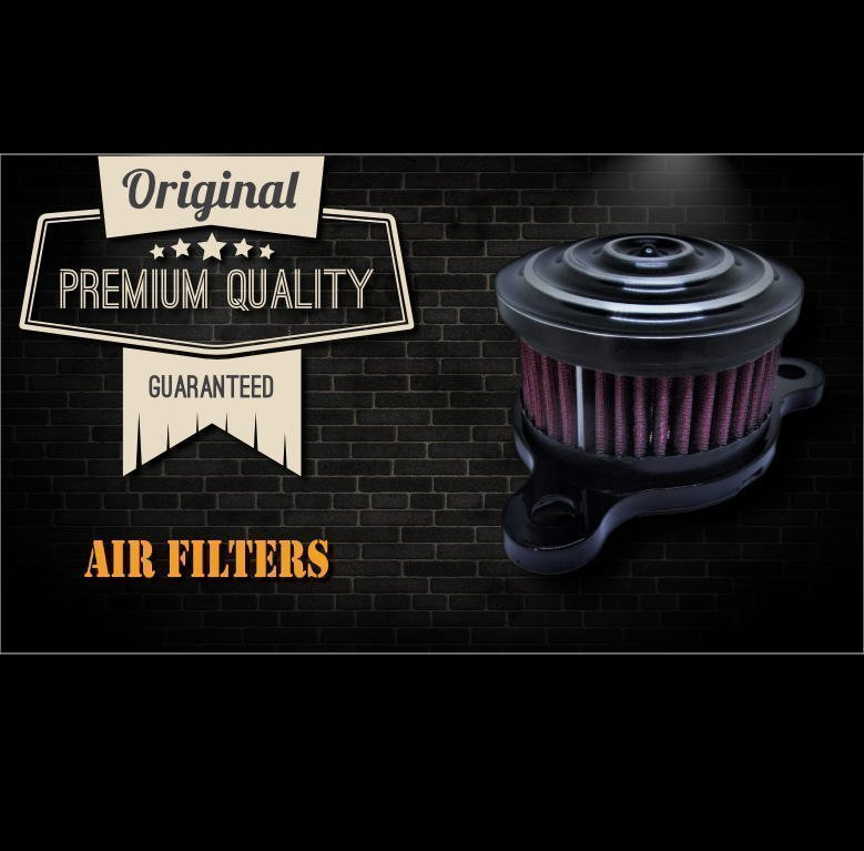 filtre a air-moto-custom-harley