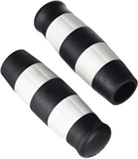 poignees-prisonnier-holdfast-rayées noir et blanc-coté