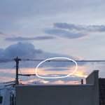 雲形UFOの画像が撮れました