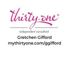 31 Logo - Gretchen Gifford