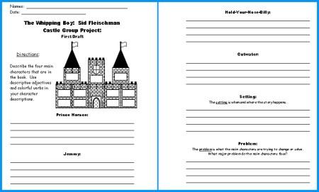 Castle Worksheets For Kids #5