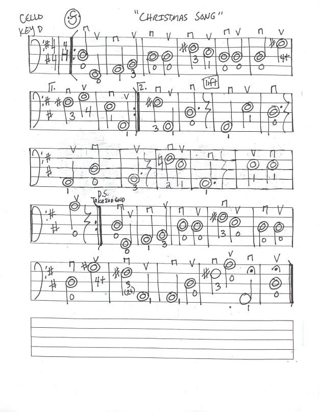 Christmas Music Worksheets #3
