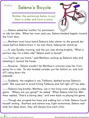 Comprehension Worksheets 4th Grade #4