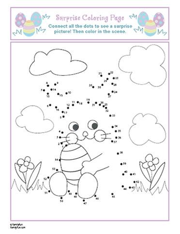 Easter Activity Worksheets #1
